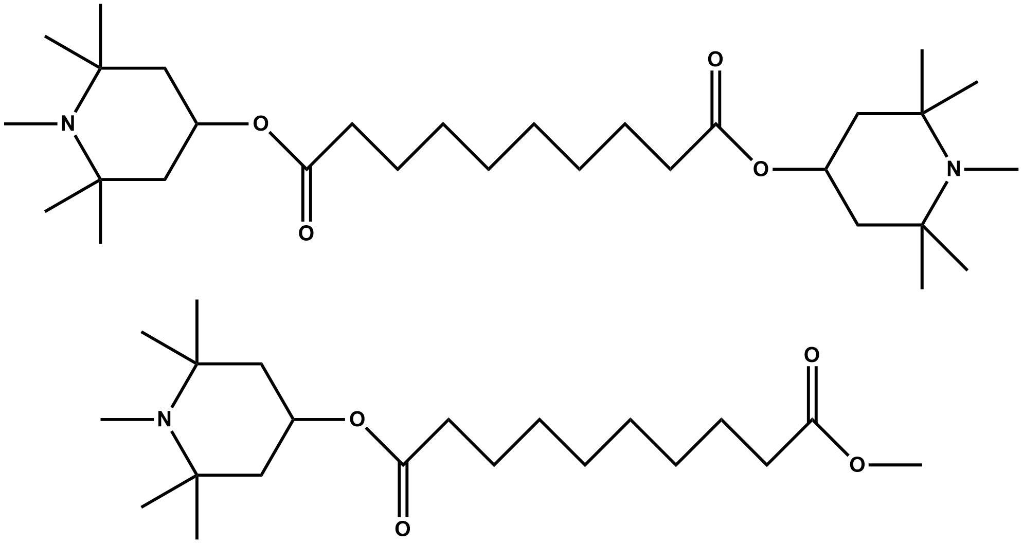EVERSTAB 292 - Reazione di massa di Bis(1,2,2,6,6-pentametil-4-piperidil) sebacato and Metil 1,2,2,6,6-pentametil-4-piperidil sebacato